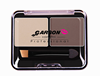 ES-Y19Garson 2 colors Eyebrow Powder/Shadow Palette Professional Make Up Eyebrow With Brush