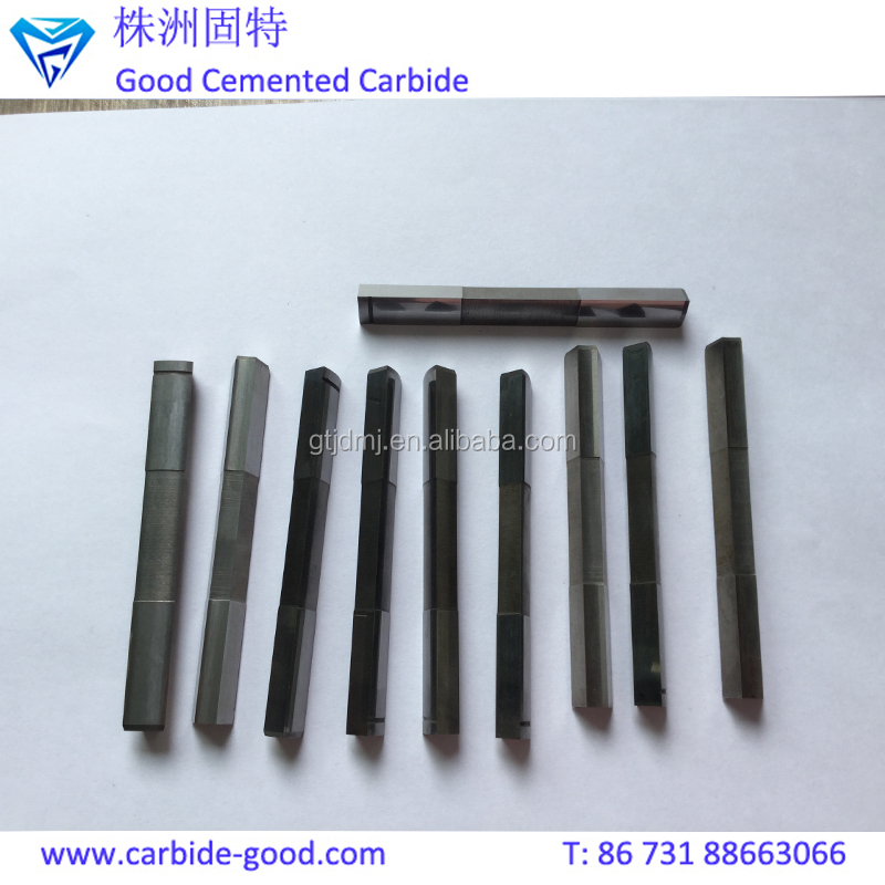 Custom Made Special Shape Punch Tungsten Carbide Punch Needle With Slot