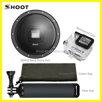 SHOOT Dome Port for Gopro 6/5, Underwater Camera Diving Lens dome for Hero 6/5