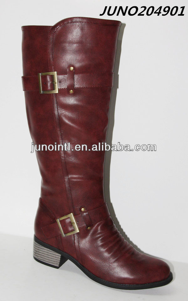 2014 lastest China Shoes Boots Women,Citi trends Shoes boots, Best Pu boots