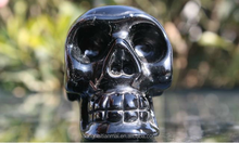 Wonderful Magic Crystal Carving skull with polished /Fengshui Crystal gift