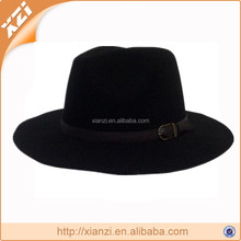 Fashion new product faux wool felt mens trilby hats
