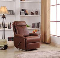 European style morden fabric recliner leisure chair, swivel and rocker recliner, electric recliner sofa