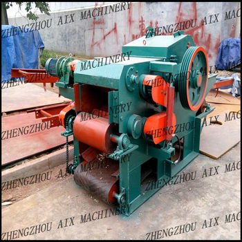 High Capacity Drum Wood Chipper
