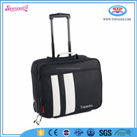 wholesale colourful travel trolley luggage laptop bag
