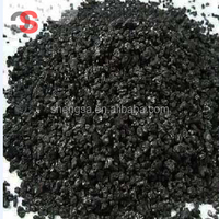 High carbon low sulfur graphitized petroleum coke for steel casting foundry and mounding