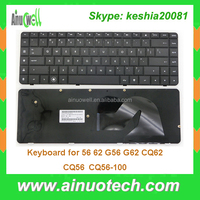 Laptop replacement keyboard for hp CQ62 56 62 G56 G62 CQ56 CQ56-100 US keyboard