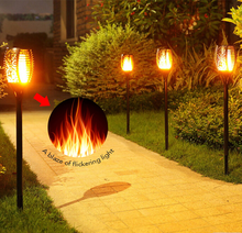 Flickering landscape Garden Lamp Dancing Flame Solar Torch Garden Lights outdoor integrated led solar garden
