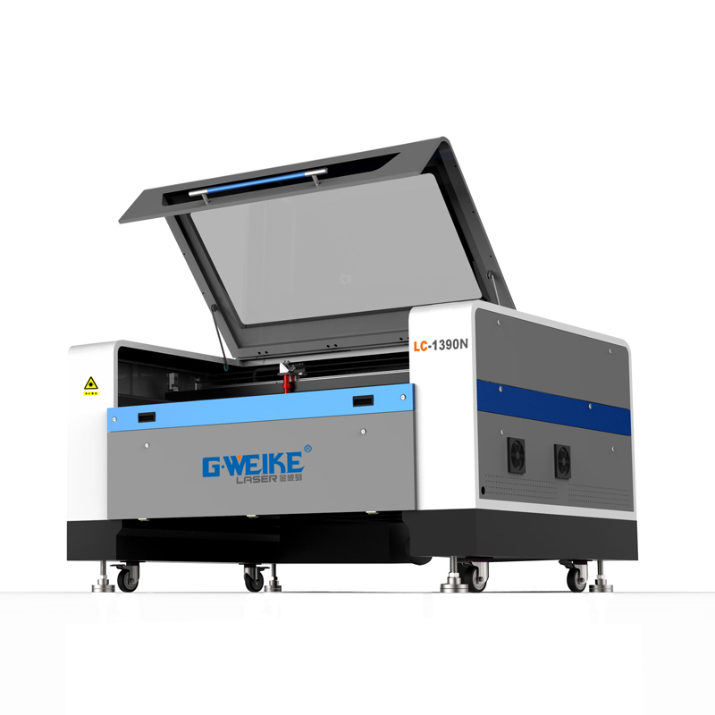CO2 LASER cutter machine  LC1610 from G.weike 16 years brand