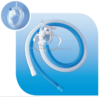 STR-Disposable inflatable oxygen circuit set used with hyperbaric chamber
