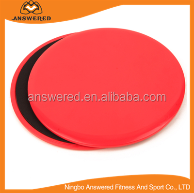 Core Exercise Sliders Gliding Discs, Red - Sliding Home/Gym Full Body Workout Training Fitness Equipment