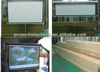 "70""*70"" manual wall screen hot sell in our factory"