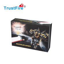 TrustFire D007 high power and low price Bicycle Light 2x CREE XML T6 LED and 2 Red Laser Beam 2000lm led bike lighting