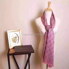 New scarf 2016 women designer cashmere scarf factory china