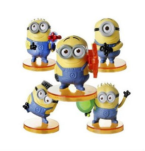 Despicable Me minions anti stress ball PU balls