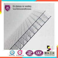 UV coating polycarbonate triple wall roofing sheet