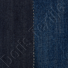 100 % cotton denim fabric , raw denim material