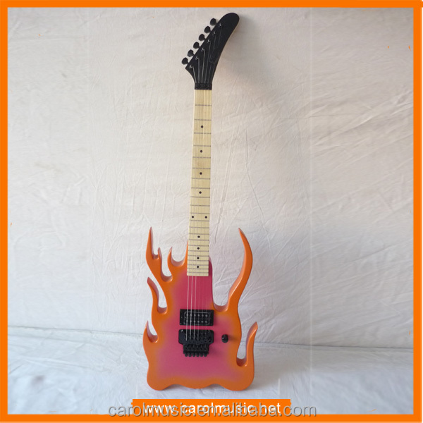 ESE047 Flame Shape Electric Guitar