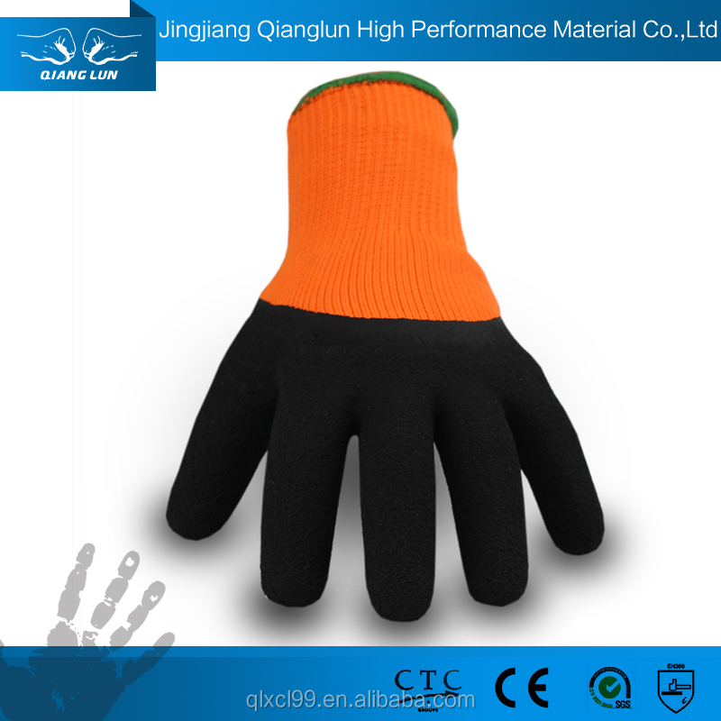 rubber latex work hand warm gloves maxiflex for automobile industry