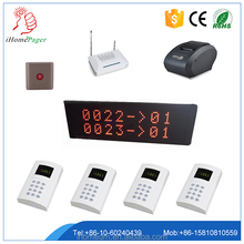 Hot Hospital Clinic Restaurant Simple Wireless Queue Management System with printer ticket