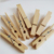 Wooden disposable pacifier wood clips factory price