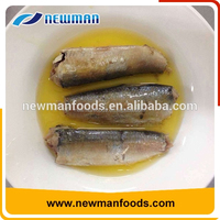 Chinese cheap canned sardines in vegetable oil BRC certificate canned sardines