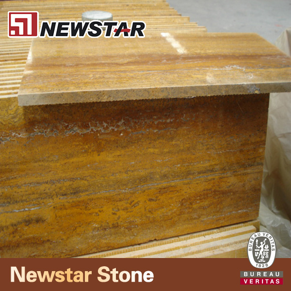 Imported Natural Golden Travertine Marble Price