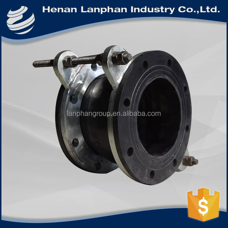 big size flexible flanged plumbing rubber coupling with ce