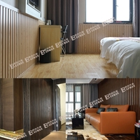 Waterproof wood plastic composite PVC interior Decorative wall panel