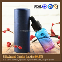 15ml 30ml black frosted/amber/blue eye glass dropper bottles/vials for essential oil rectangle glass