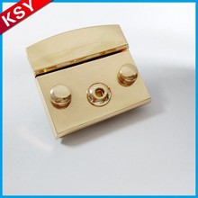 Quality Assurance China Manufacturer Metal Push Bag Hardware Turn Lock AndTwist Locks For Bags