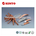 Multifunctional flexible copper laminated connector, braided copper jumper