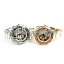 fashion diamond studded watch comply CE/ROHS/SGS
