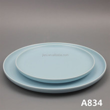 "porcelain 10"" coupe shape dinner plate"