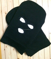 New Full Head Face Black Knitted Balaclava Riding Masked Cap Outdoor Winter Hats