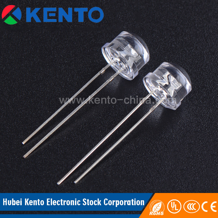 Alibaba export Slow Flash Automatic 4.8mm 400nm light emitting diode