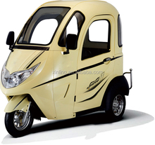 xinling elctric fully enclosed tricycle as passenger model for sale