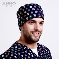 Health Medical Printed Fabric Surgical Cap