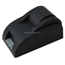 Cheap 58mm pos thermal receipt fiscal printer with display with USB Port