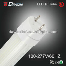 led Tubo 18W 20W LED T8 tube light frosted /clear cover led tube with UL,CE, RoHS
