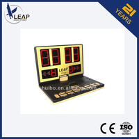 Alibaba provided portable led electronic cricket digital scoreboard