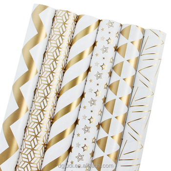 Customize packaging and printing gift  wrapping paper roll