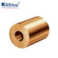 Round Copper Ferrules Fitting Wire Rope