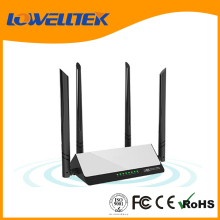 Dual band high speed 1200mbps broadband wireless wifi router with 4 antennas