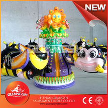 Fun swing ! hot selling rotary honey bee park amusement ride for kids