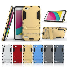 Kickstand shockproof case back cover for Oppo A33