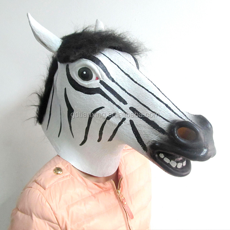 Animal Face Latex Mask