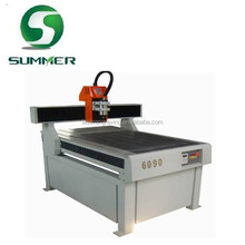 SM9015 small advertising cnc router for sign making aluminum mold and wood processing