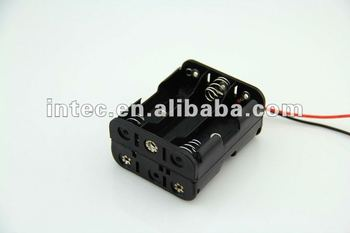 6AA back to back battery holder,BH363A battery holder, 6x1.5V back to back battery holder
