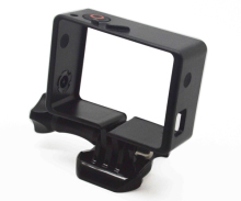 Gopros Standard Frame with Button for Gopros Heros 4/3+/3 with Assorted Mounting Hardware